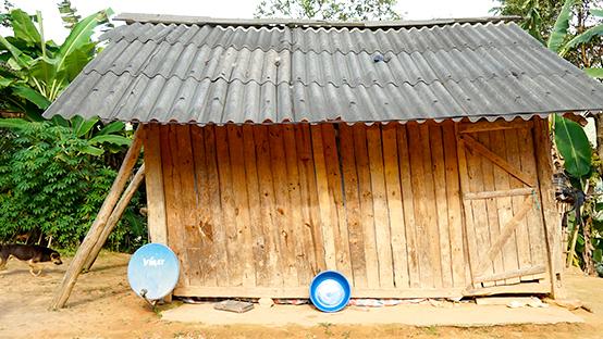 ナモ村の旧幼稚園 園舎