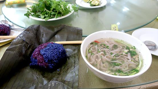 ベトナムの朝食